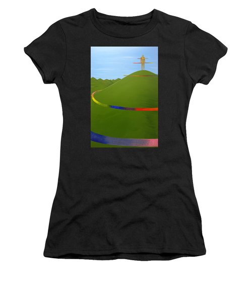 Ripples Of Life 1.4 Women's T-Shirt (Athletic Fit)
