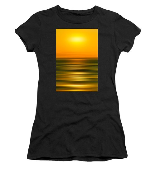 Women's T-Shirt (Athletic Fit) featuring the photograph Rising Sun by Az Jackson