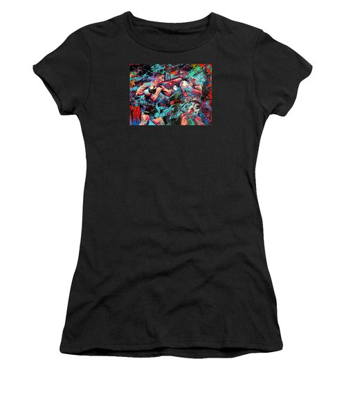 Rivals- Large Work Women's T-Shirt (Athletic Fit)