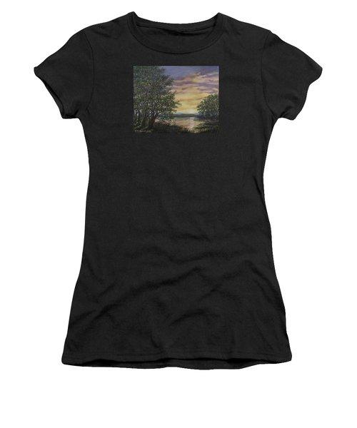 River Cove Sundown Women's T-Shirt (Athletic Fit)