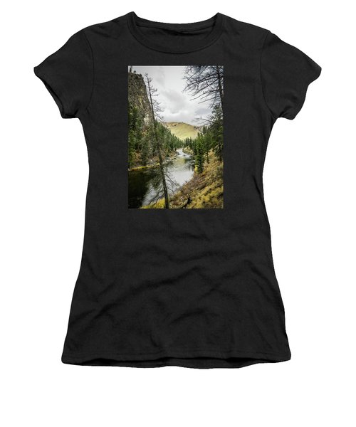 River In The Canyon Women's T-Shirt