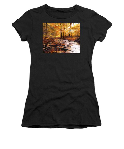 River Of Gold Women's T-Shirt