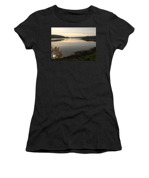 River Solitude Women's T-Shirt (Athletic Fit)