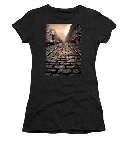 River Street Railway Women's T-Shirt (Athletic Fit)
