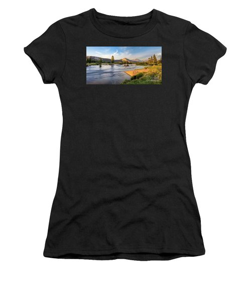 River Sunset  Women's T-Shirt