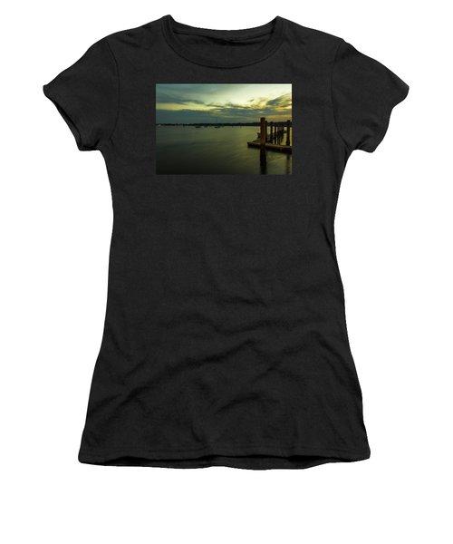 River Sunset  Women's T-Shirt