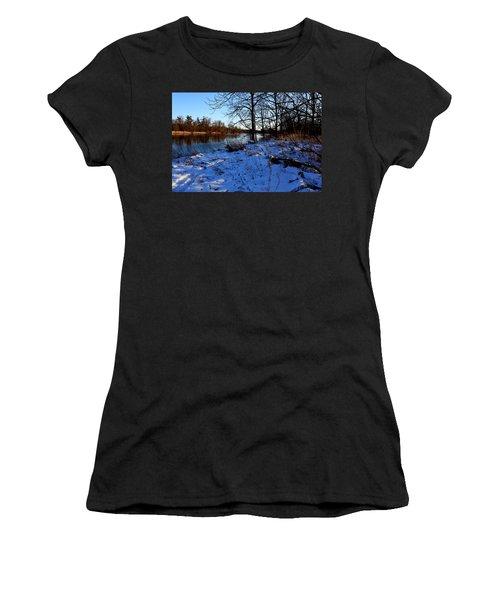 Riverbank Tracks Women's T-Shirt