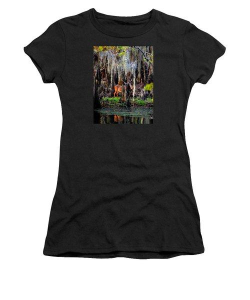 Riverside Deer Women's T-Shirt (Athletic Fit)