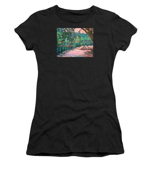 Riverview At Dusk Women's T-Shirt