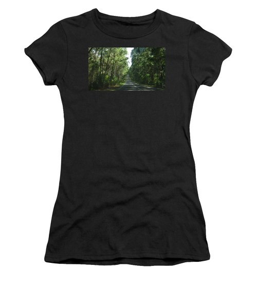 Road Women's T-Shirt (Athletic Fit)