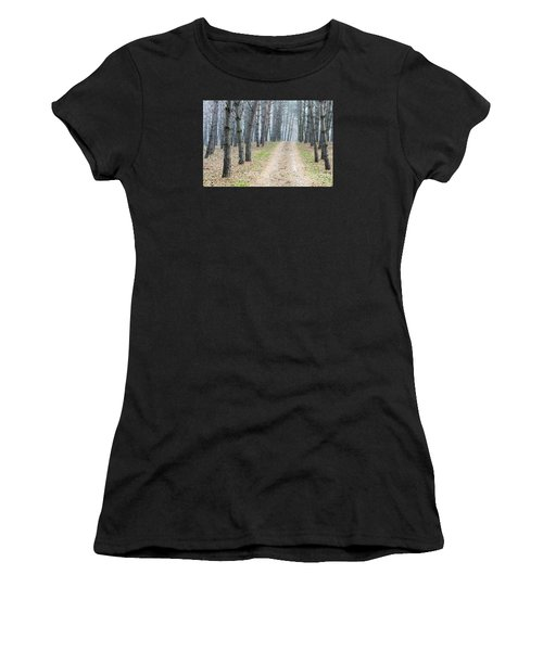 Road To Pine Forest Women's T-Shirt