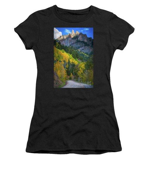 Road To Silver Mountain Women's T-Shirt
