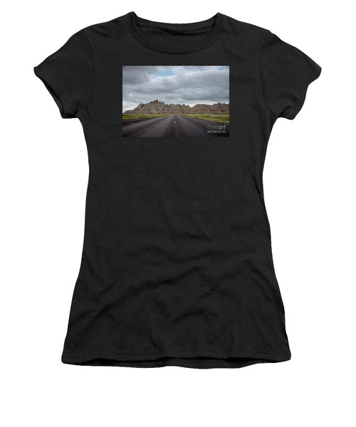 Road To The Badlands  Women's T-Shirt