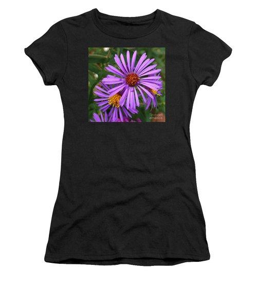 Roadside Flowers Women's T-Shirt (Athletic Fit)