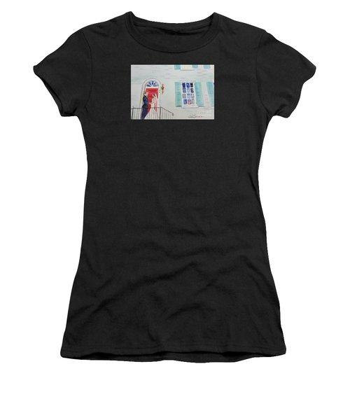 Robert And Anne At Gratz Park Women's T-Shirt (Athletic Fit)