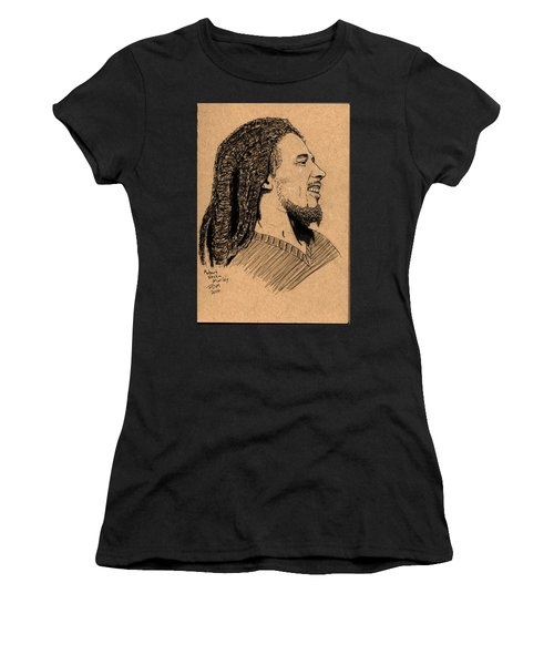 Robert Nesta Marley Women's T-Shirt (Athletic Fit)