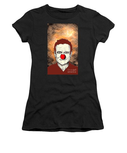 Robin Williams 2 Women's T-Shirt (Athletic Fit)