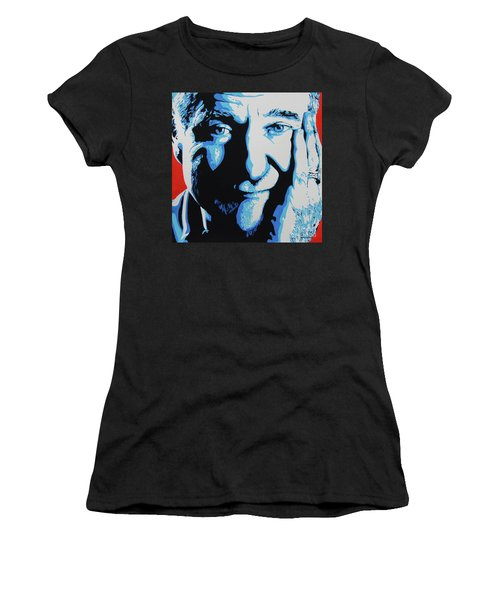 Robin Williams. Women's T-Shirt (Athletic Fit)