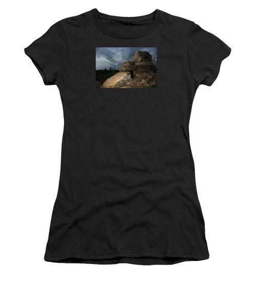 Roche Percee Peak Women's T-Shirt (Junior Cut) by Ryan Crouse