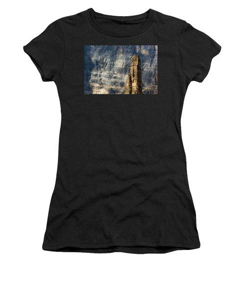 Rock Climber Women's T-Shirt (Athletic Fit)