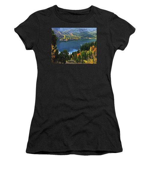 Rock Creek Lake In Fall Women's T-Shirt