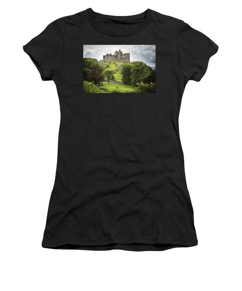 Rock Of Cashel Cashel County Tipperary Women's T-Shirt (Athletic Fit)