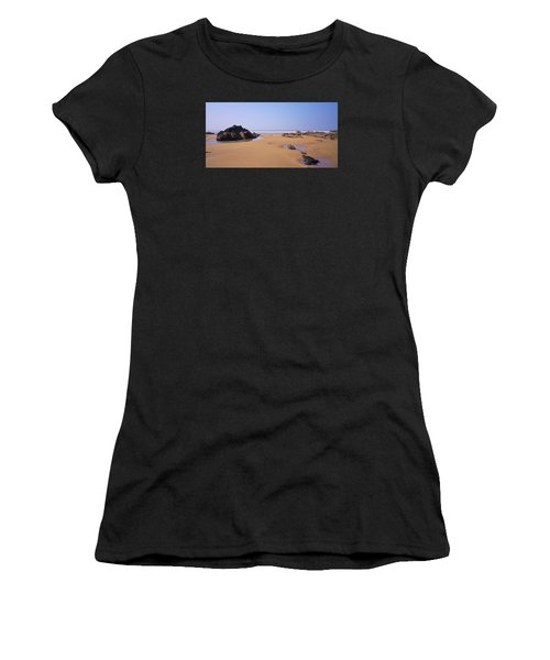 Rock Pools Women's T-Shirt (Athletic Fit)
