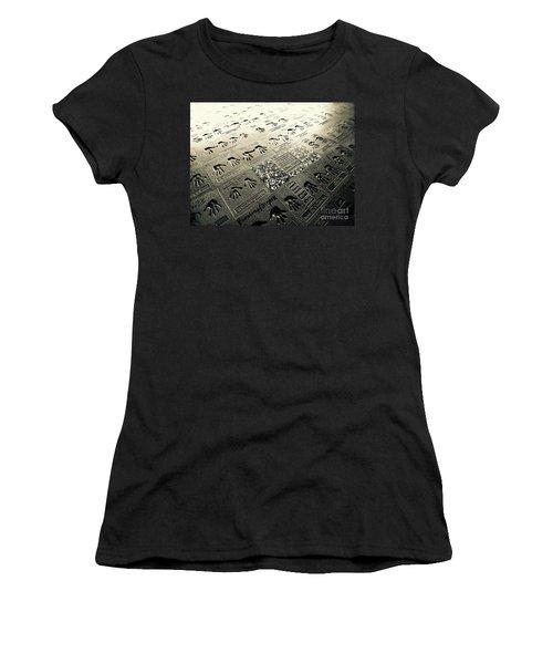 Rock Walk Women's T-Shirt (Athletic Fit)