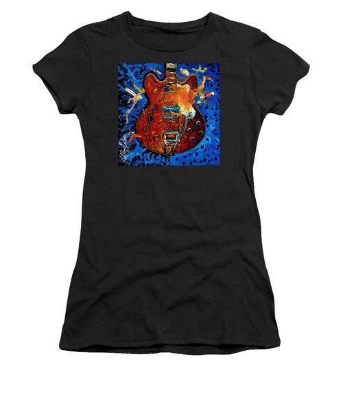 Rockin Epiphone Women's T-Shirt (Athletic Fit)