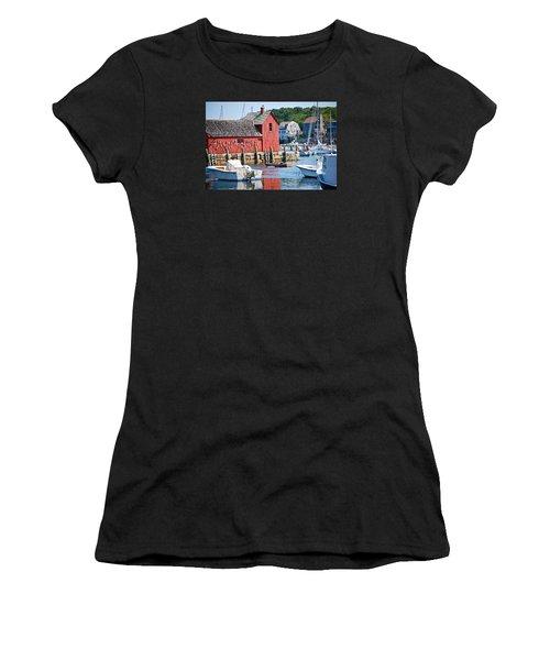 Rockport Motif 1 Women's T-Shirt (Athletic Fit)