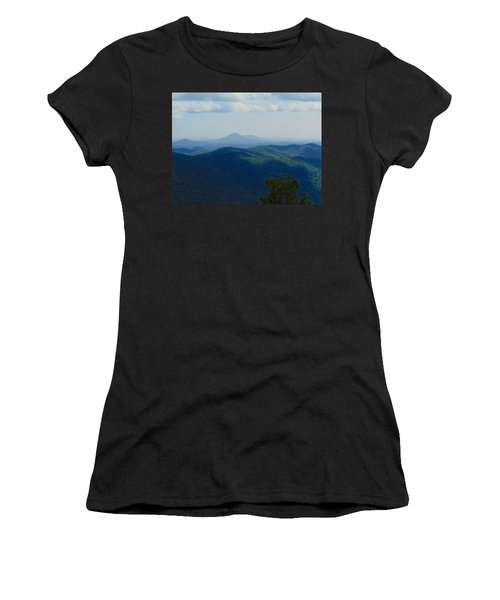 Rocky Mountain Overlook On The At Women's T-Shirt