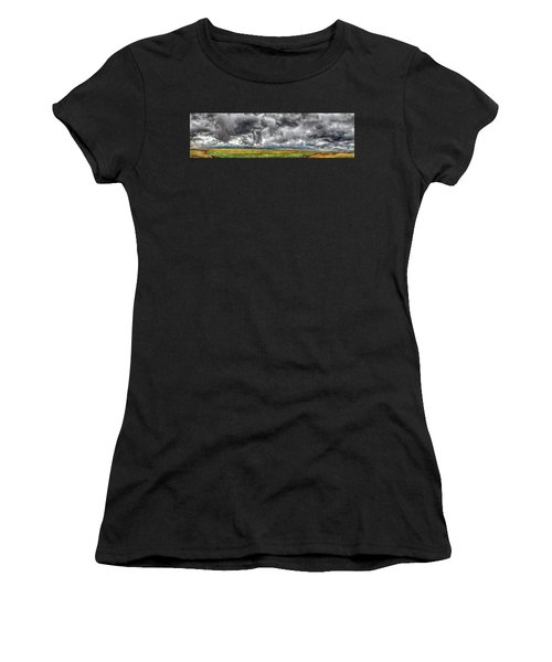 Rocky Mountain Panorama Hdr Women's T-Shirt