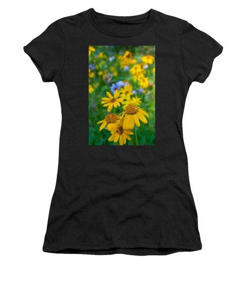 Rocky Mountain Wildflowers Women's T-Shirt