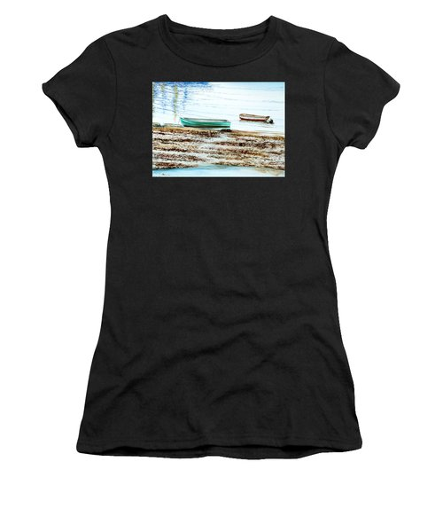 Rocky Neck Runabout Skiff Women's T-Shirt