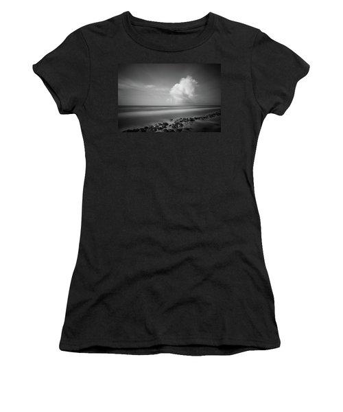 Rocky Shoreline Women's T-Shirt (Athletic Fit)