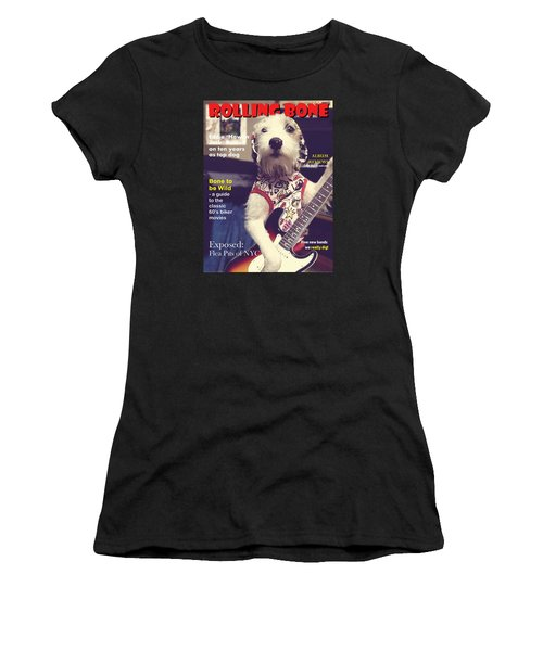Women's T-Shirt (Junior Cut) featuring the photograph Rolling Bone Magazine by Richard Reeve