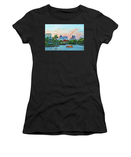 Rolling Down The New River Women's T-Shirt (Athletic Fit)