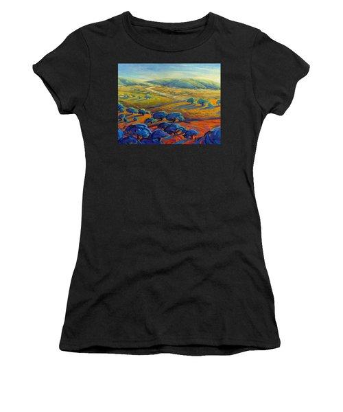 Rolling Hills 3 Women's T-Shirt