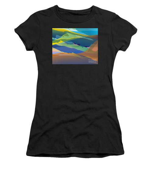 Rolling Hills Landscape Women's T-Shirt