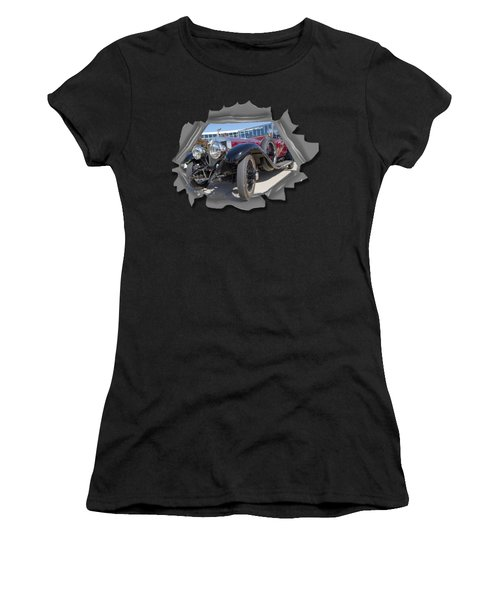Rolls Out  T Shirt Women's T-Shirt (Athletic Fit)