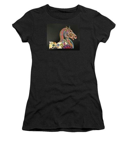Roman Horse Women's T-Shirt (Athletic Fit)