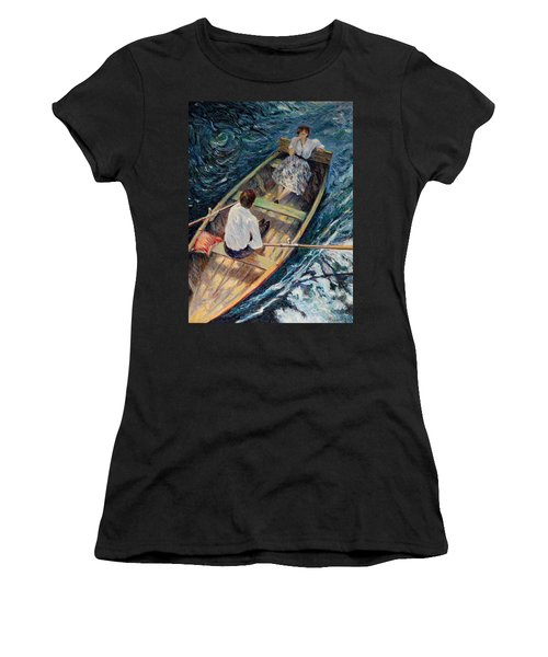 Dordogne , Beynac-et-cazenac , France ,romantic Boat Trip Women's T-Shirt (Athletic Fit)