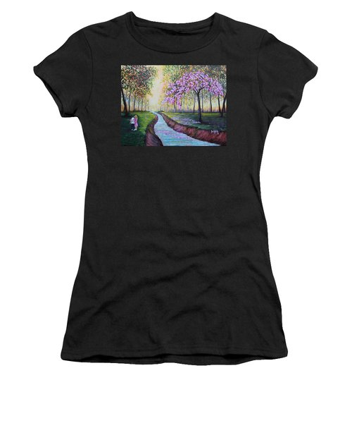 Romantic Moment Women's T-Shirt (Athletic Fit)