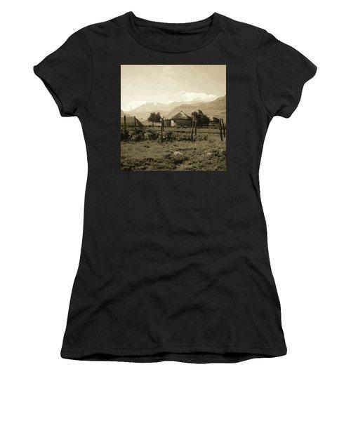 Rondavel In The Drakensburg Women's T-Shirt