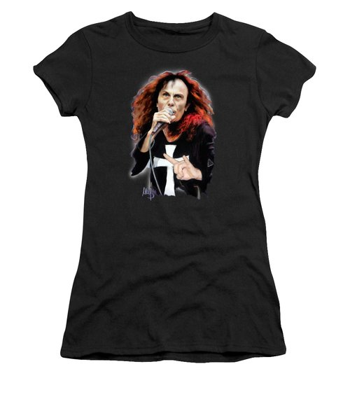 Ronnie James Dio Women's T-Shirt (Athletic Fit)