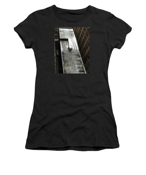 Roof Access Women's T-Shirt (Athletic Fit)