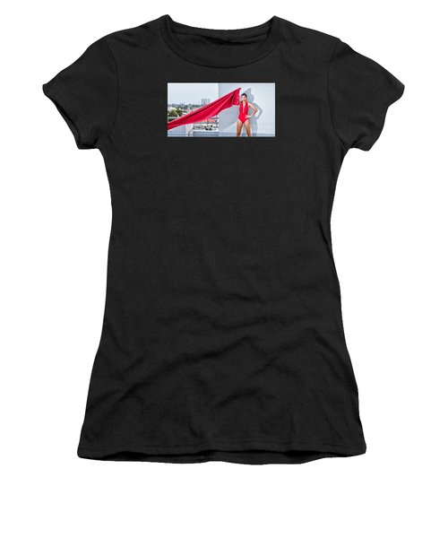 Rooftop Women's T-Shirt (Athletic Fit)