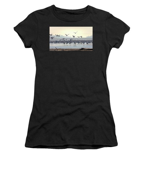 Roosting On The Platte Women's T-Shirt