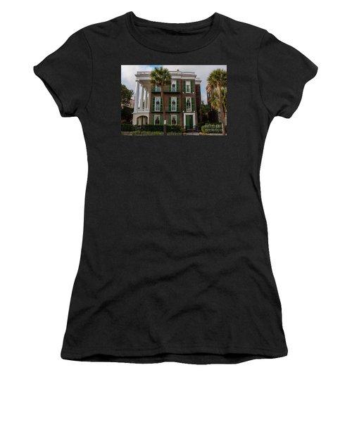 Roper Mansion In December Women's T-Shirt