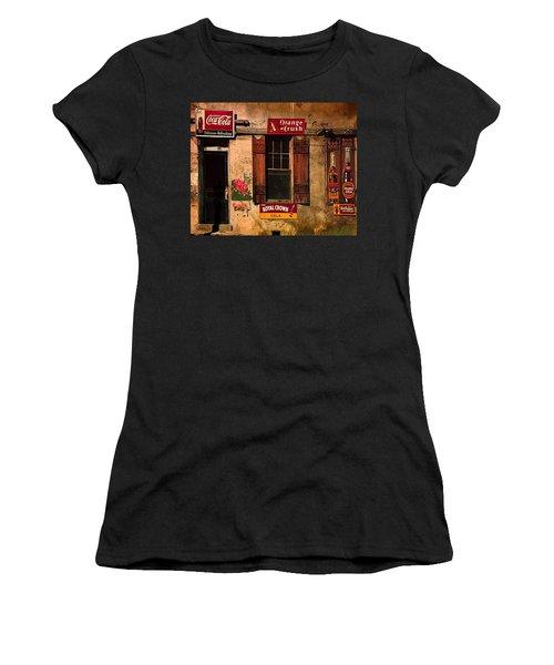 Rosas Cafe Women's T-Shirt (Junior Cut) by J Griff Griffin